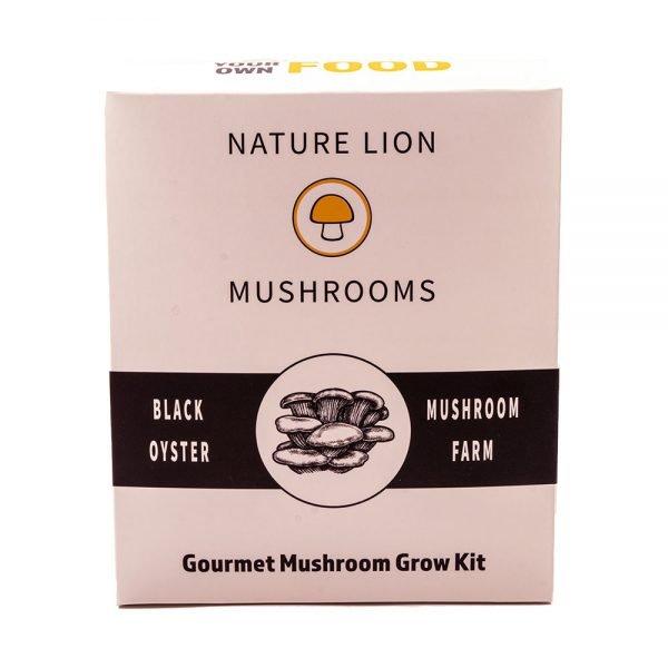 Black Oyster Mini Farm - Mushroom Grow Kit